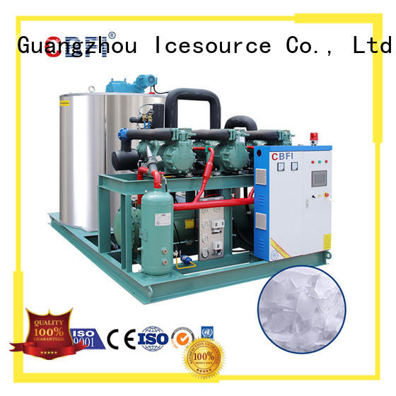 CBFI good-package flake ice machine for sale free design for cooling use