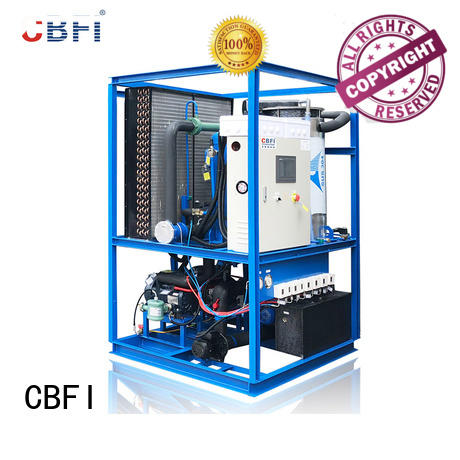 CBFI welcomed ice tube machine manufacturers order now for edible usage