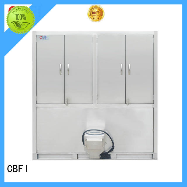 CBFI cbfi industrial ice cube making machine supplier for fruit storage