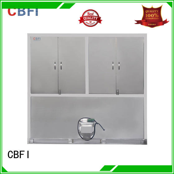 CBFI hotels ice cube machine manufacturers free design for fruit storage