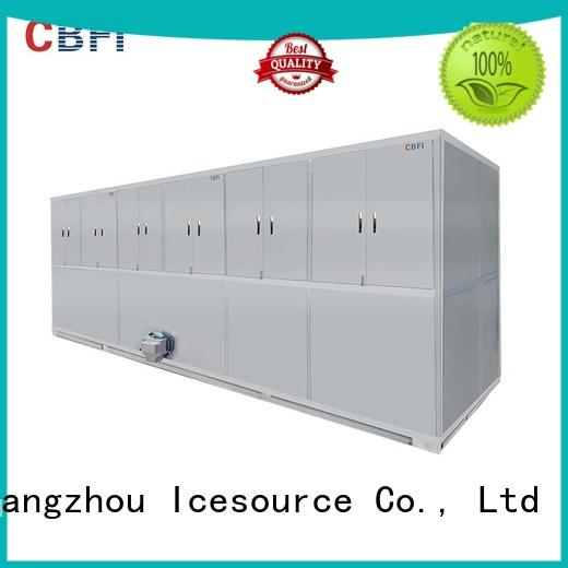 CBFI coolest cube ice machine factory for vegetable storage