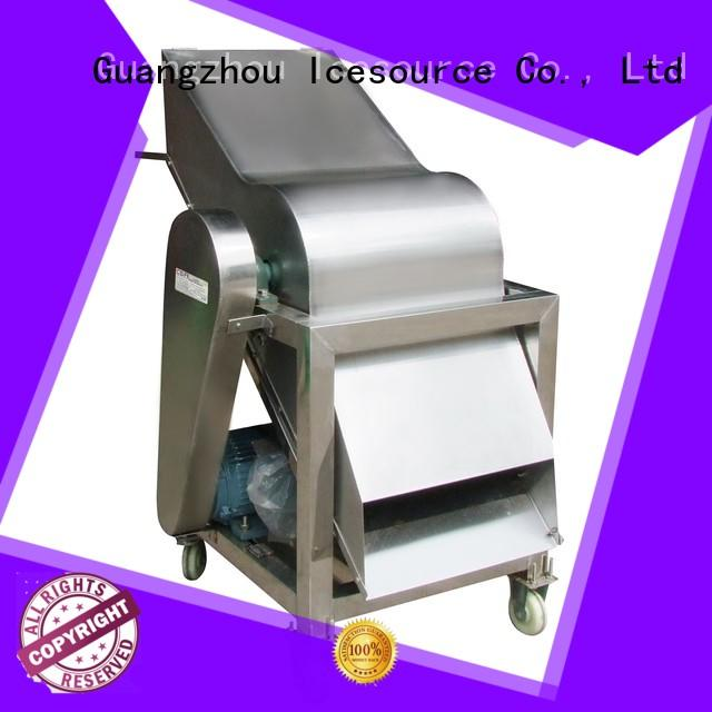 CBFI durable crushed ice machine factory price for vegetable preservation