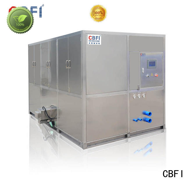 CBFI coolest industrial ice cube machine free design for freezing