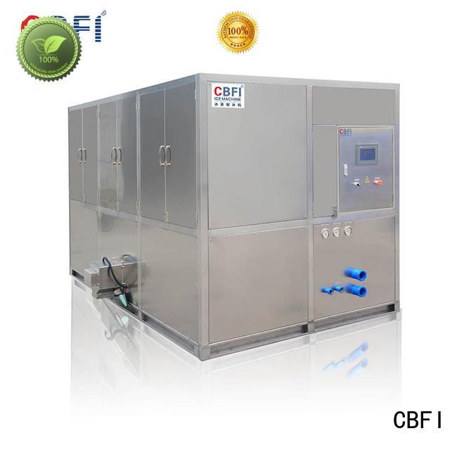 CBFI coolest industrial ice cube machine free design for freezing