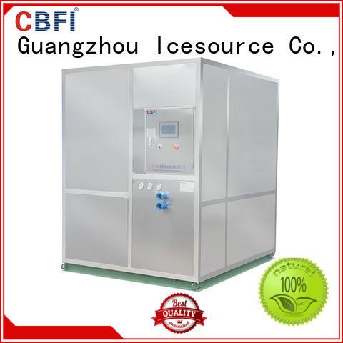 CBFI durable 5 ton ice machine bulk production for ice bar