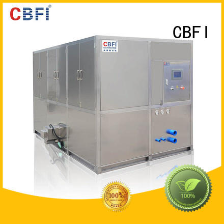 capacity cube ice maker factory for vegetable storage CBFI