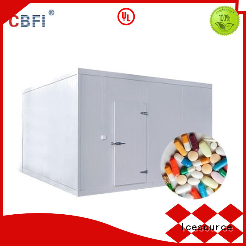 CBFI medical cold storage in china in summer