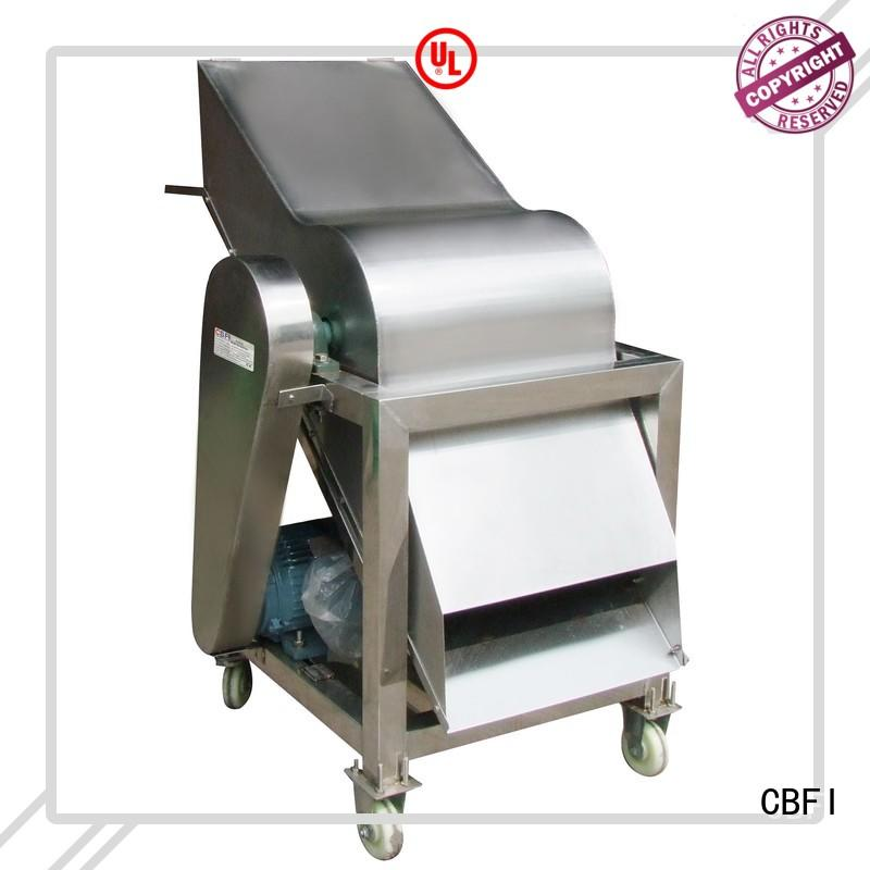 CBFI inexpensive industrial ice crusher vib for meat preservation