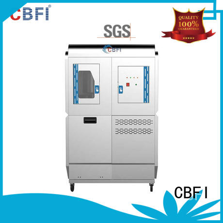 CBFI food sonic ice maker overseas market for concrete cooling