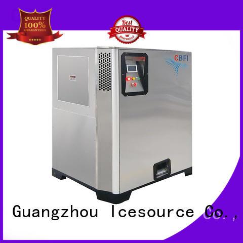 CBFI drinks Nugget Ice Machine order now for aquatic goods