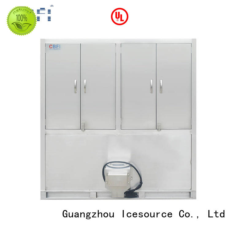 CBFI plant commercial ice cube machine factory price for vegetable storage