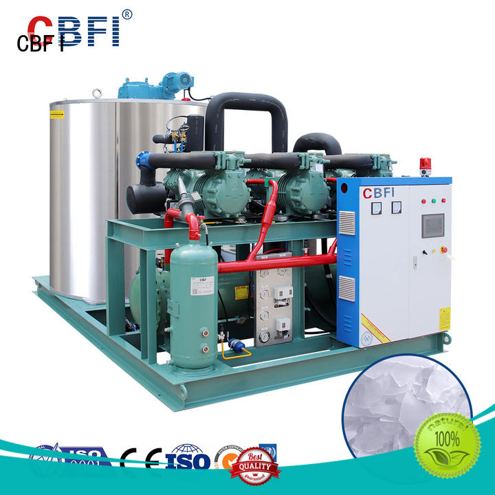 CBFI concrete flake ice machine supplier for cooling use