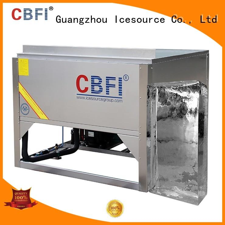 size Pure Ice Machine vendor for ice sculpture shaping CBFI