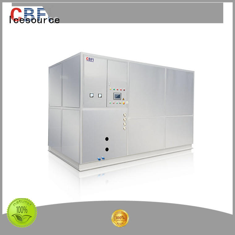 CBFI fish plate ice maker factory price for ice sculpture