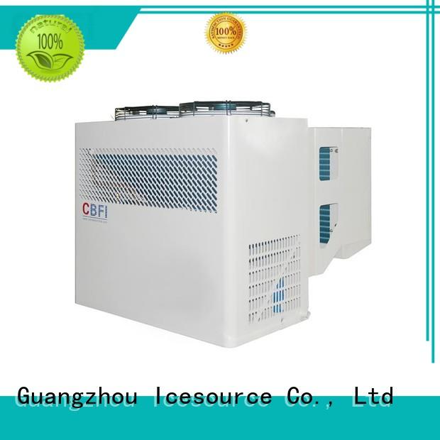 CBFI design intelligent cold room unit bulk production for freezingg