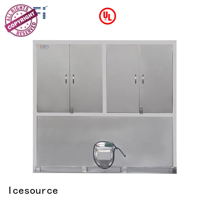 CBFI controller large ice cube machine for vegetable storage