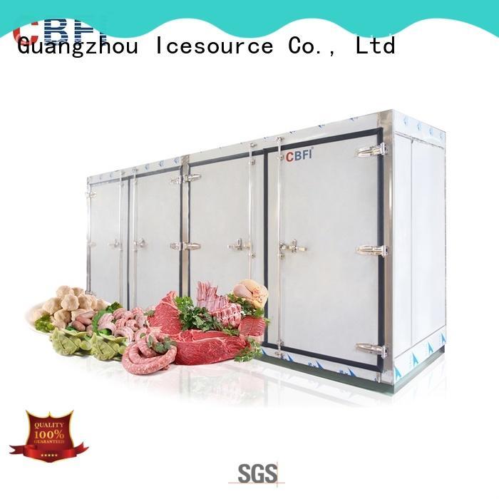 cold room freezer processing vendor for water pretreatment