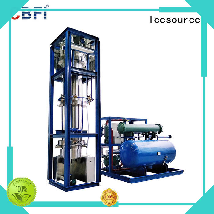 CBFI widely used ice tube machine price free design for ice making