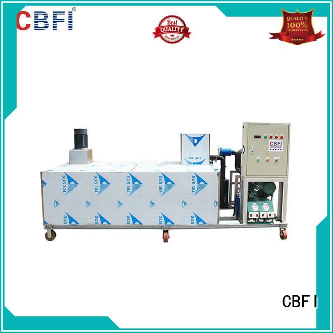 CBFI efficient block ice making machine marketing for medical rescue