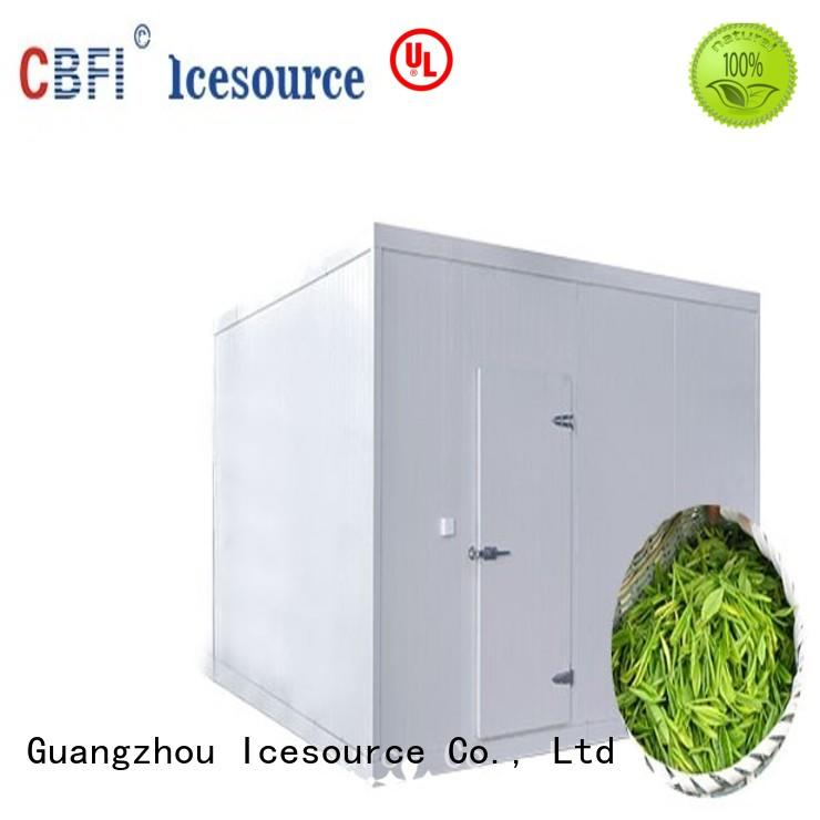 CBFI professional mobile cold room bulk production for freezing