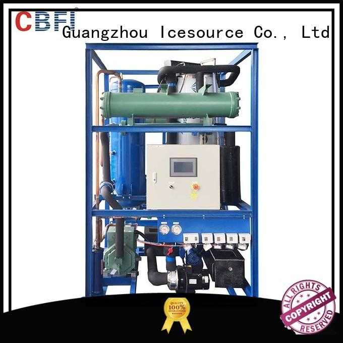 usage drinks ice tube making machine maker CBFI Brand