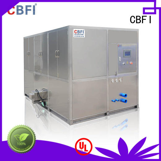 CBFI day large ice cube machine free design for vegetable storage