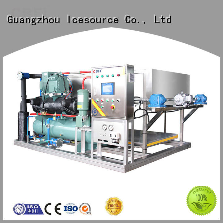 reliable direct cooling block ice machine ice manufacturer for fruit storage
