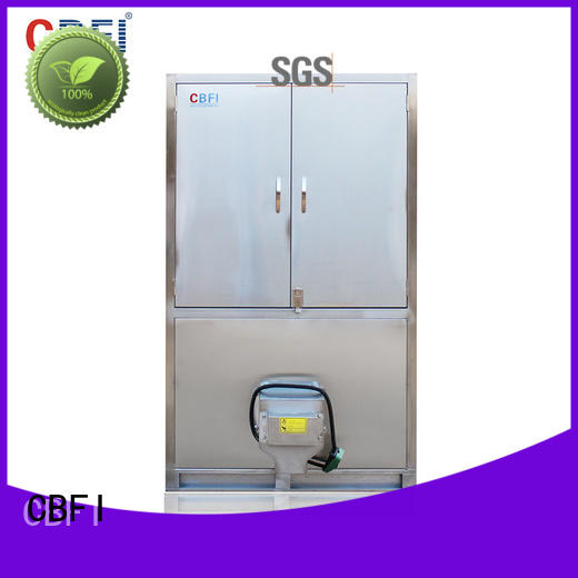 long-term used ice cube maker machine control from china for fruit storage