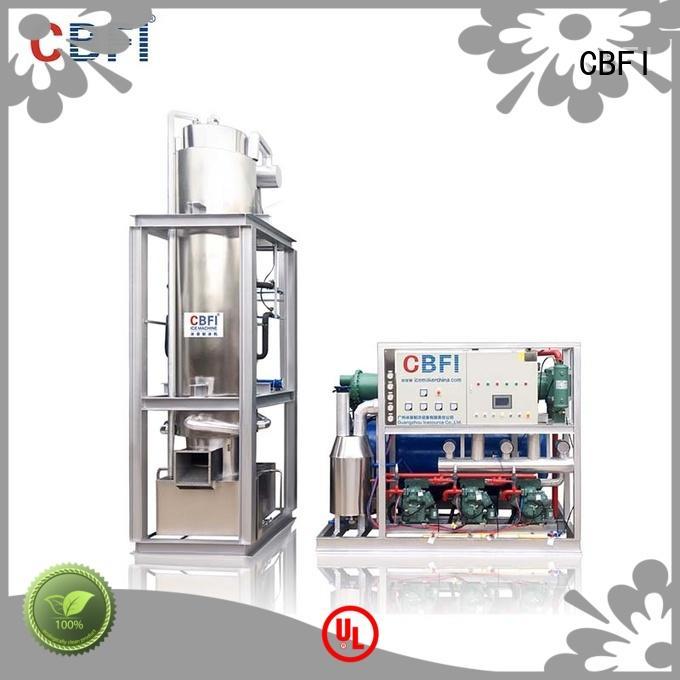 CBFI professional ice crusher machine manufacturer for restaurant