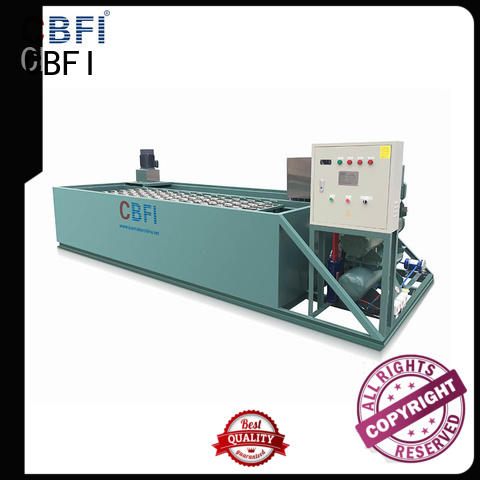 CBFI famous commercial ice block machine machine for fresh seafood