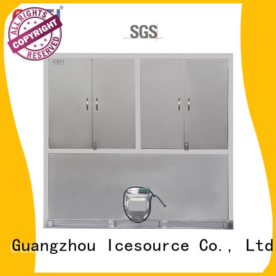 CBFI widely used industrial ice cube machine factory for vegetable storage