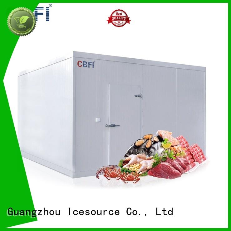 series fish and meat cold room vendor for fish storage CBFI