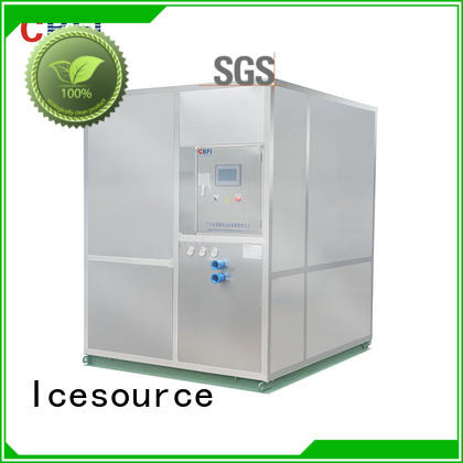 CBFI high reputation plate ice machine plant for ice bar