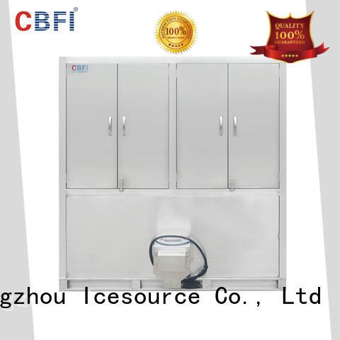 per industrial ice cube making machine supplier for fruit storage CBFI