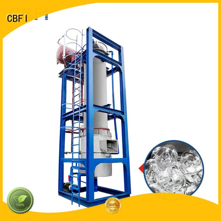 CBFI AT80 80 Tons Per Day Ammonia Refrigerant Tube Ice Making Machine