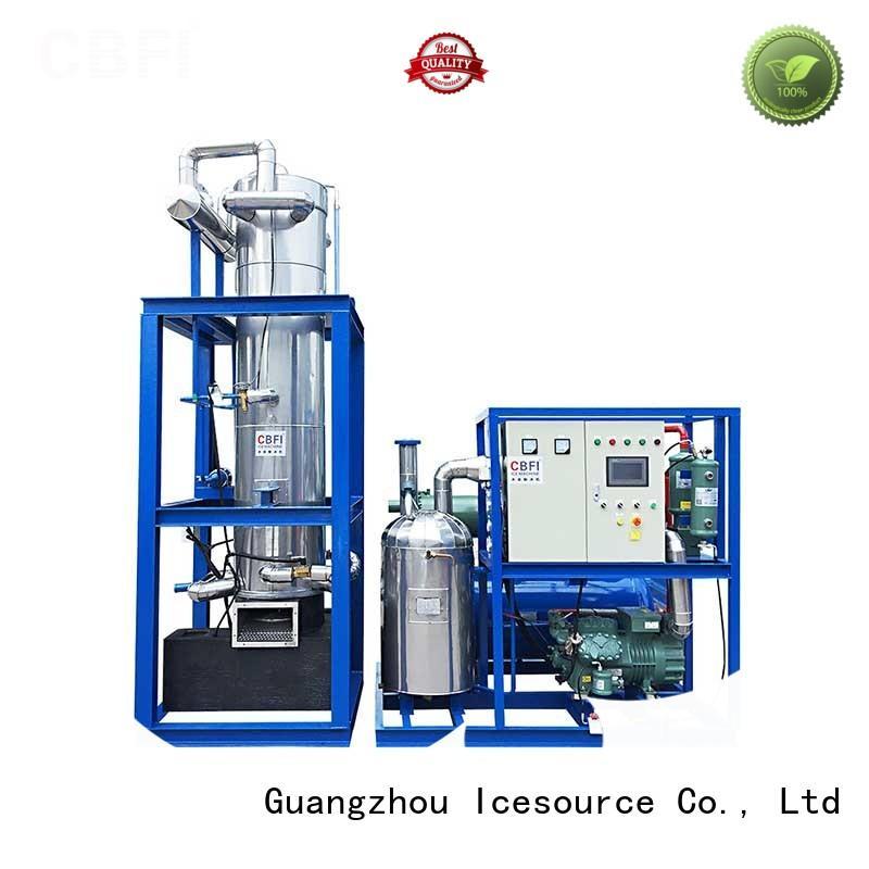 durable pellet ice maker bulk production for restaurant