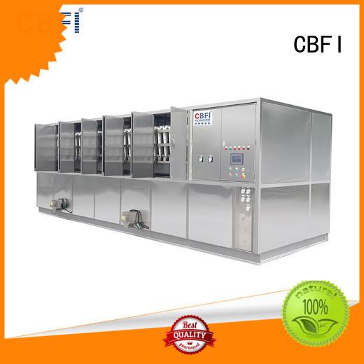 CBFI tons large ice cube machine manufacturer for fruit storage