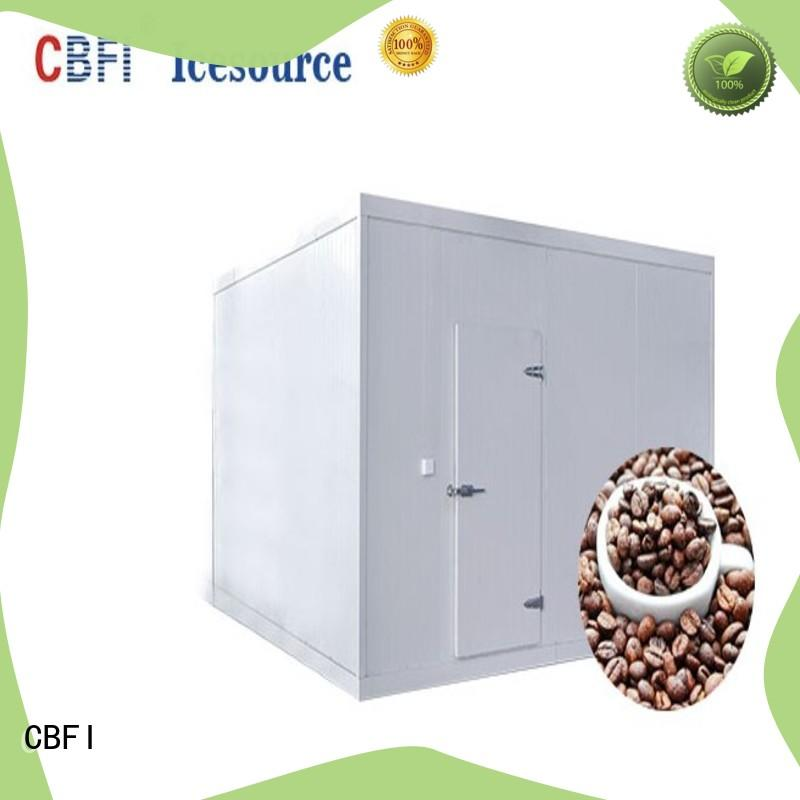 coolest large cold storage type for freezing
