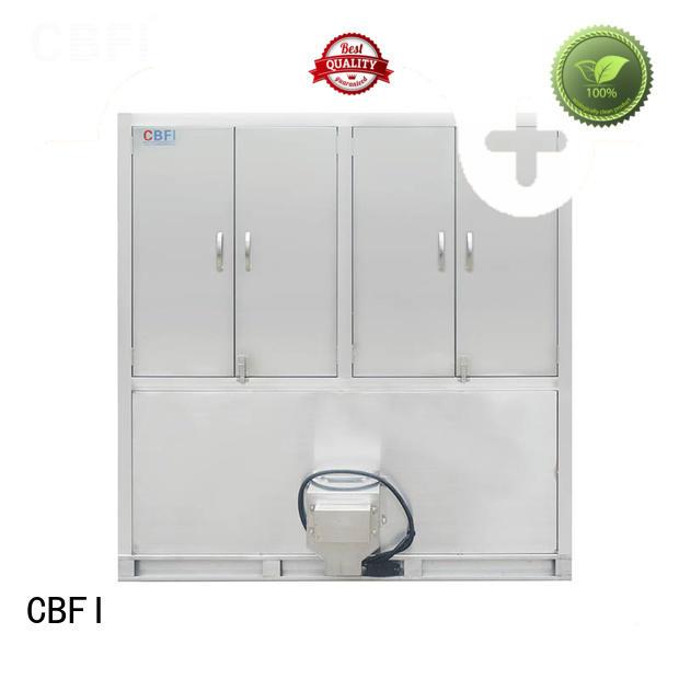 CBFI ton commercial ice cube machine supplier for fruit storage