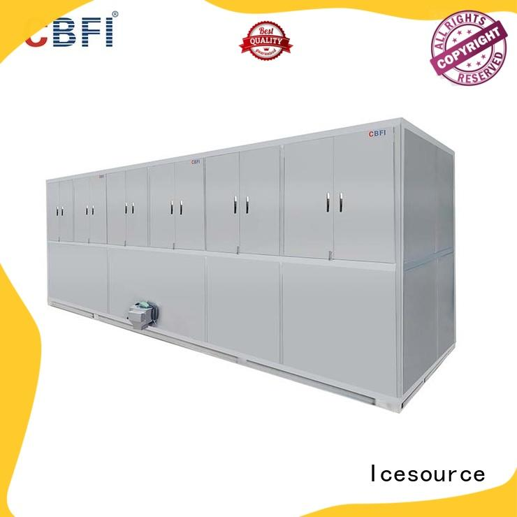 CBFI long-term used commercial ice cube machine order now for vegetable storage