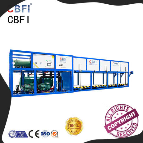 widely used direct cooling block ice machine cbfi for freezing
