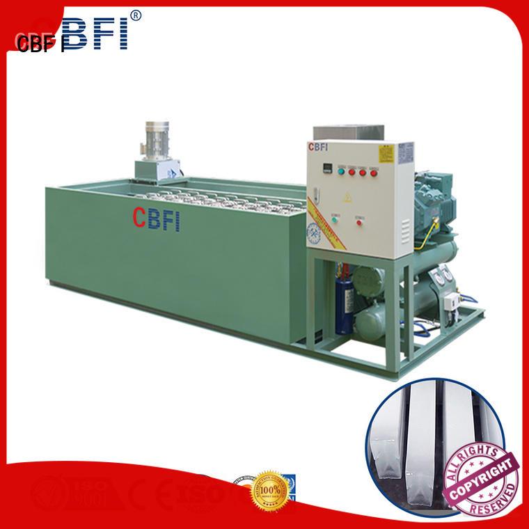 CBFI professional portable ice machine bulk production for whiskey