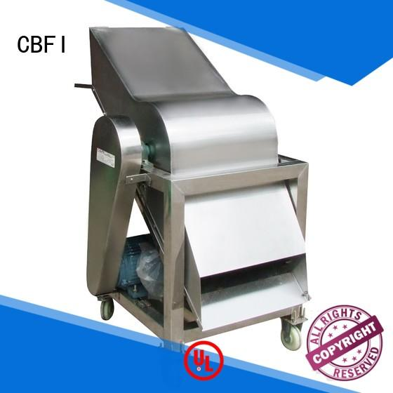 CBFI made ice crusher machine for wholesale for vegetable preservation
