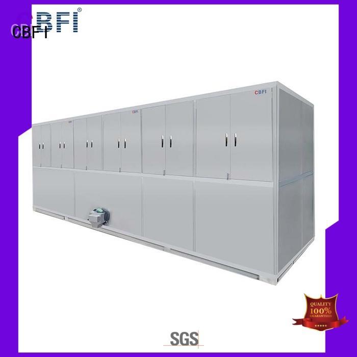 CBFI reliable large ice cube machine factory for freezing