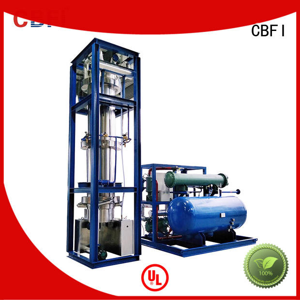 CBFI tube ice machine philippines plant for beverage cooling