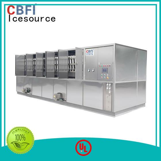 CBFI controller best ice cube machine manufacturer for vegetable storage