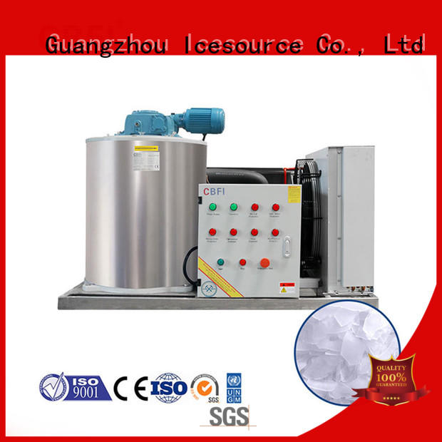 CBFI fish ice flaker machine price for ice making