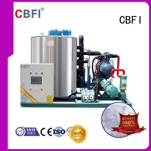 CBFI inexpensive flake ice making machine free quote for aquatic goods