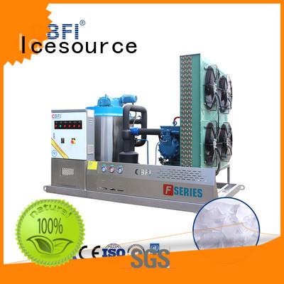 CBFI seawater flake ice machine bulk production for water pretreatment