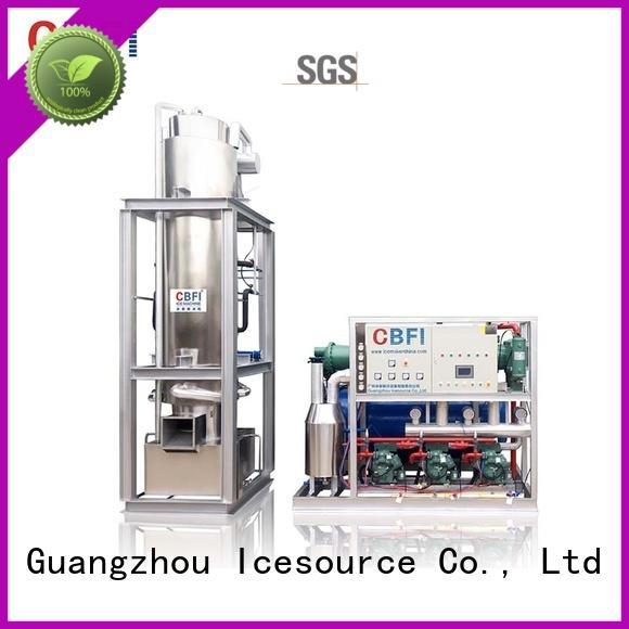 CBFI Brand day per tube ice machine for myanmar automatic supplier